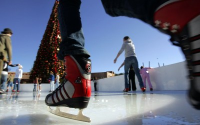 Where can you go ice skating around San Diego?