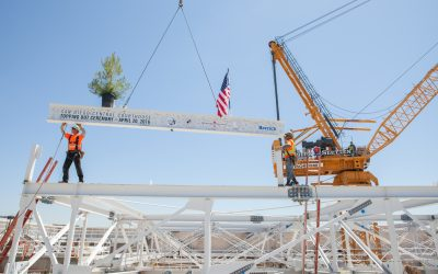 "Rudolph & Sletten – San Diego Central Courthouse ""Topping Out Ceremony"""